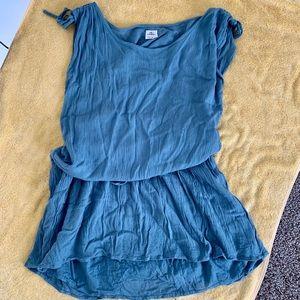 Gauze lace detailed dress- O'Neil